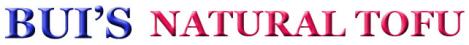 buinaturaltofu.com